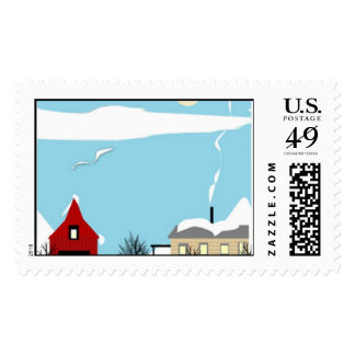 winter postage