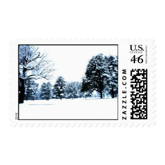 Winter Postage Stamps
