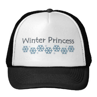 Winter Princess Design Trucker Hat