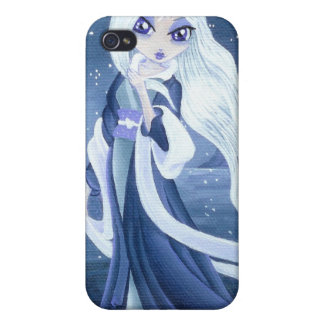 Winter Princess in Snow for I- iPhone 4 Cover