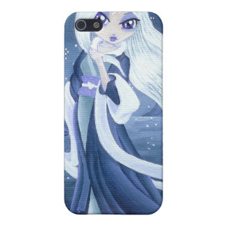 Winter Princess in Snow for I- Cover For iPhone 5/5S