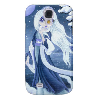 Winter Princess in Snow for I-Phone 3 Samsung Galaxy S4 Covers