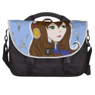 Winter Princess Laptop Bag