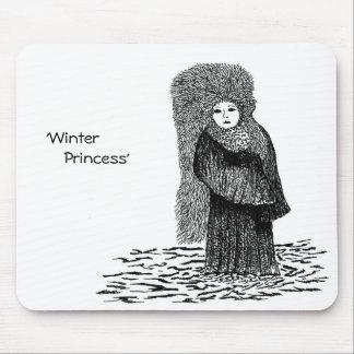 Winter Princess Mousepad
