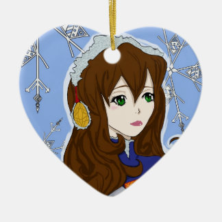Winter Princess Christmas Tree Ornament