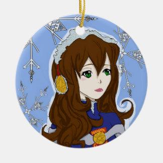 Winter Princess Ornament