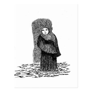 Winter Princess Postcard