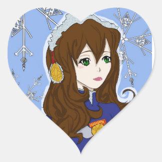 Winter Princess Stickers