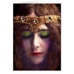winter queen~ card