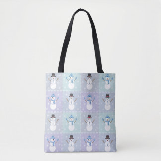 Winter Quilt All-Over-Print Bag