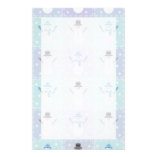 Winter Quilt Stationery