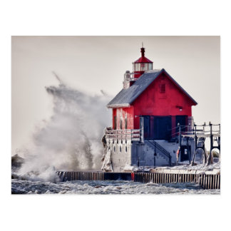 Winter  Rage Postcard