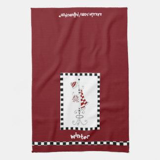 Winter Rectangle Kitchen Towel