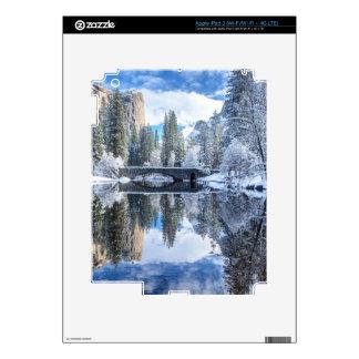 Winter Reflection at Yosemite iPad 3 Skins
