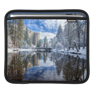 Winter Reflection at Yosemite Sleeves For iPads