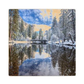 Winter Reflection at Yosemite