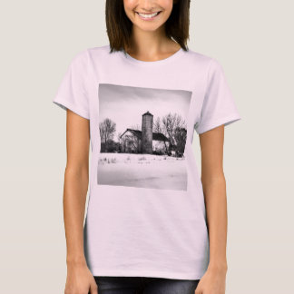 Winter Refuge Barn T-Shirt