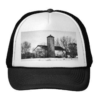 Winter Refuge Barn Trucker Hat