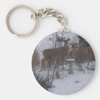 Winter Reindeer Keychain