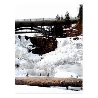 Winter Retreat Postcard