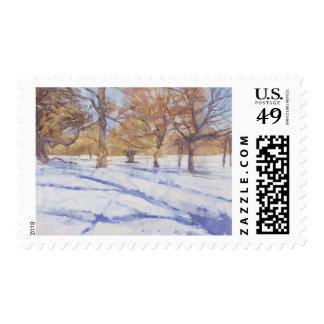 Winter Richmond Park Postage