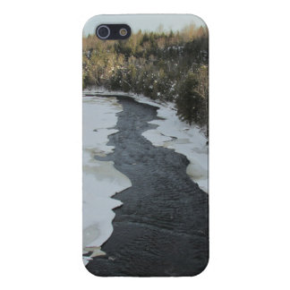 Winter River Landscape Cover For iPhone SE/5/5s