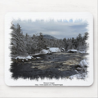 Winter River Mouse Pad