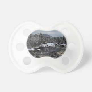 Winter River Baby Pacifier