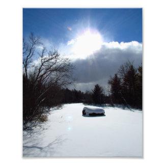 Winter River Photo Print