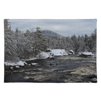 Winter River Placemat