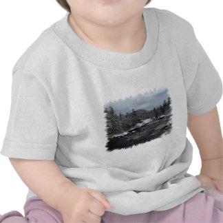 Winter River T Shirt