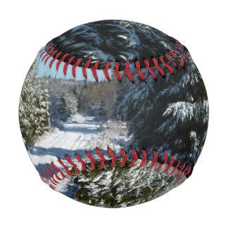 Winter Road Baseball