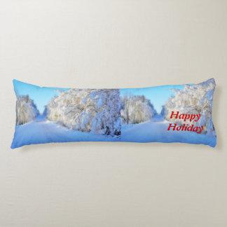 Winter Road Body Pillow