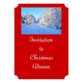 Winter Road Card