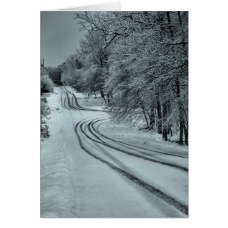 Winter Road Cards