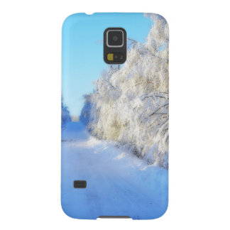 Winter Road Galaxy S5 Covers