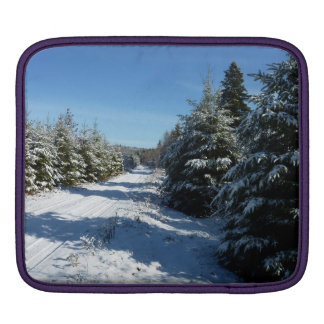 Winter Road iPad Sleeve