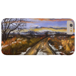 Winter Road iPhone 6 Plus case