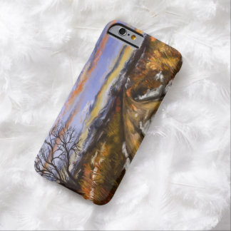 Winter Road iPhone 6case Painted Digitally Barely There iPhone 6 Case