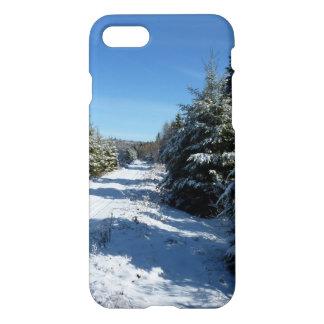 Winter Road iPhone 7 Case