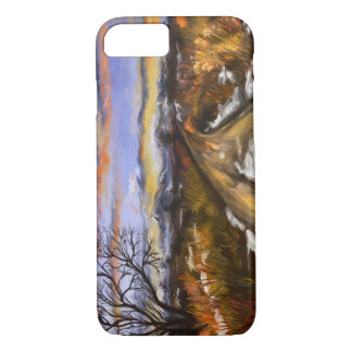 Winter Road iPhone 7case Painted Digitally iPhone 8/7 Case