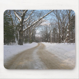 Winter Road Mouse Mat