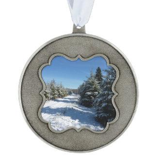 Winter Road Ornament