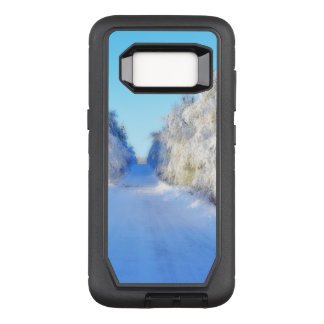 Winter Road OtterBox Defender Samsung Galaxy S8 Case
