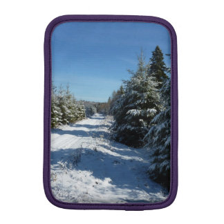 Winter Road Sleeve For iPad Mini