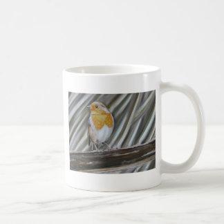 Winter Robin Mugs
