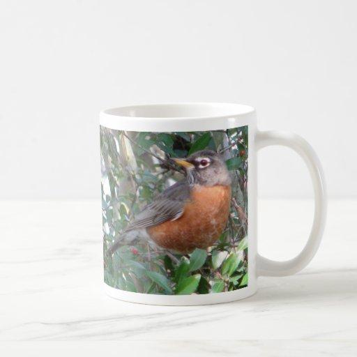 Winter Robin Mug