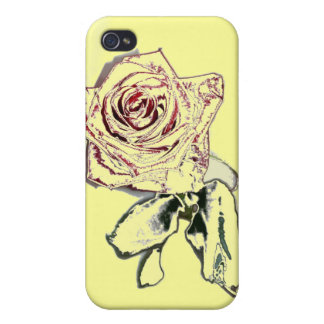 Winter Rose Cases For iPhone 4