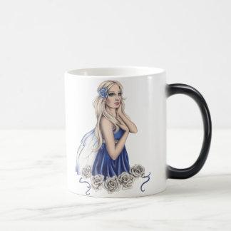 Winter Rose Fairy Mug