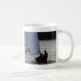 Winter Sailboat Race Coffee Mug